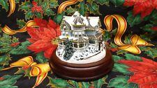 "Hawthorne Village Victorian Lights"" Holiday Gathering"" 79264-Lights Work -Coa"
