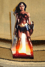 "Wonder Woman ""Gal Gadot"" Movie Color Figure Tabletop Display Standee 10.5 "" Tall"