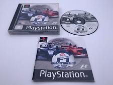 PS 1 💎 F1 campeonato temporada 2000 💎 Playstation Game Con Manual 💎