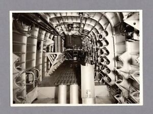 SHORT STIRLING BOMBER FUSELAGE ORIGINAL PRESS PHOTO RAF WW2 PASSED BY CENSOR