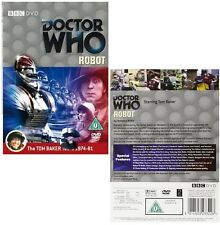 DR WHO 075 (1974) - ROBOT - Doctor Tom Baker with Sarah Jane  NEW R2 DVD