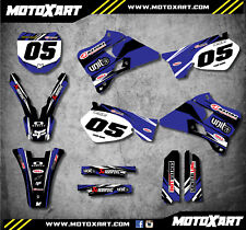 DIGGER STYLE decals Fits Yamaha YZ 250  1996 - 2001 Full Custom Graphics Kit