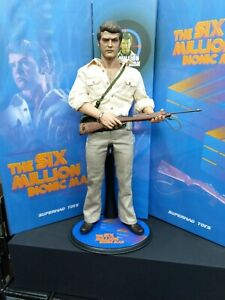 The Six Million Bionic Man Hunter Outfit Version 1/6 Figurine 30cm SUPERMAD Toys
