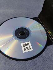 COIL ANS CD new black ESKATON 034 UK 2003 electronic experimental john balance