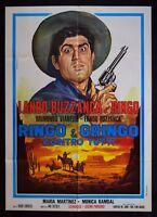 M139 Manifesto 2F Ringo E Gringo Gegen Alle Lando Buzzanca Martinez Van