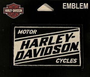 Harley Davidson® Embroidered Motorcycle Ignition Vest Patch Emblem EM334881