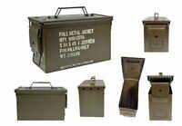 US Munitionskiste Prepperkiste Lagerbox Werkzeugkiste Transportbox Metallbox