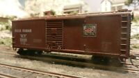 """Athearn BB 40' Western Pacific, """"Bulk Sugar"""" DS Wood Boxcar,  Upgraded, Exc"""
