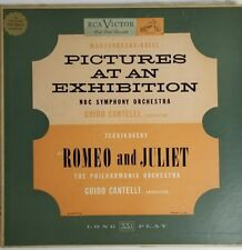 CANTELLI moussorgsky ravel pictures at an exhibition LP  LM-1719 Mono USA RCA