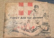 Vintage Air Force Manual FIRST AID FOR AIRMEN (AFP 35-5-3) November 1959