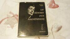 MADELEINE FERRÉ / DÉDICACE  / LES MÉMOIRES D'UN MAGNÉTOPHONE / 1967