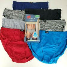 Hanes Premium Mens Tagless Sport Brief Underwear size XL Multicolor Lot of 7 New