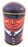 "The Tin Box Company Cap Tins Metropolitan Police Chief ER England W/Lid 4"""