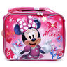 Disney Minnie Mouse School Insulated Lunch Bag Girls Pink Snack Box Nice day