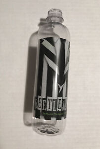 """BEETLEJUICE Broadway WATER BOTTLE! Sold At Theatre Only! """"Disposable"""" / No Lid"""