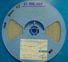 KOA 1206 Resistencia 820 Ohmio 5% Reel, RM73B2BTE821J, 3500pcs