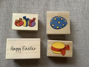 FOUR EASTER STAMPS. NEVER USED