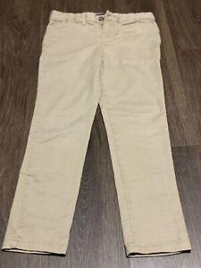 Ralph Lauren Girls Khaki Pants Sz 6X