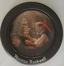 "Norman Rockwell ""The Ship Builder"" Heritage Collection - In Wood Frame"