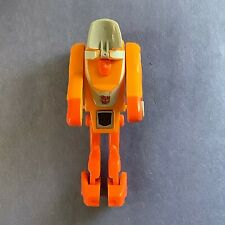Wheelie Transformer G1 Figure Autobot Hasbro Orange Space Car Complete