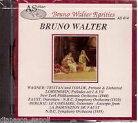 Wagner : Tristan Und Isolde, Lohengrin, Berlioz: Le Corsaire / Bruno Walter - CD