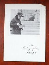 Kodak Autographic Sales Brochure, 1915, 16 Pages/cks/197701