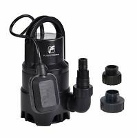 FLUENTPOWER 1/3HP Submersible Water Pump Sump Pump 2100GPH with Float Switch