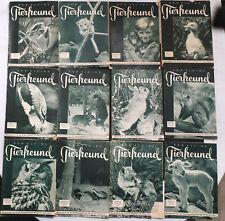 Der kleine Tierfreund - Konvolut - 12  Hefte -  1951/1954/1956/1957 - Naturliebe