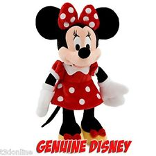 Disney Minnie Mouse Red Dress 48cm Large Plush Doll Toy With Tag