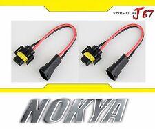 Nokya Wire Harness H8 NoK9118 Fog Light Bulb Socket Female Male Connector Socket