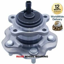 FOR TOYOTA AVENSIS 2009--> NEW REAR WHEEL BEARING HUB KIT COMPLETE