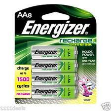 Energizer Pre-Charged Rechargeable AA Battery 8 Pack UNH15BP-8