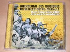 CD PROMO / ANTHOLOGIE DES MUSIQUES ACTUELLES D'OUTRE-MER 1 / LIVE / RARE / NEUF