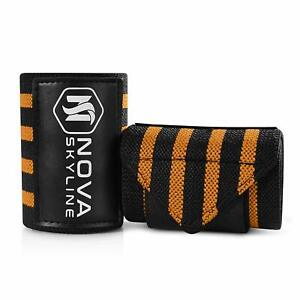 """20"""" Wrist Wraps for Weight Lifting, Bodybuilding, CrossFit, Exercise, Yoga"""