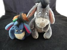 "Walt Disney World Parks Eeyore Plush Stuffed Animal Detachable Tail 8"" plus"