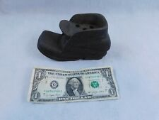 "2 Vtg Wooden Shoes Boots 3"" and 6"""