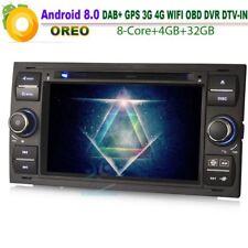"""7""""8-Kern Android 8.0 Car DVD DAB+Autoradio GPS Navigation für Ford Fusion Galaxy"""