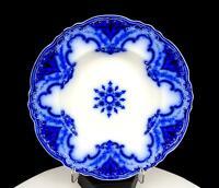 "ALFRED MEAKIN LTD ENGLAND FLOW BLUE CAMBRIDGE PATTERN 8 3/4"" SOUP BOWL 1891"