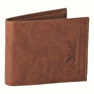 Levi's Men's RFID-Blocking Extra Capacity Bifold Traveler Wallet Tan