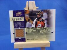 Upper Deck World of Sports 2011 All Sports Apparel Ned Crotty Lacrosse As-Nc