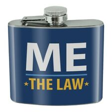 New listing Me Above the Law Stainless Steel 5oz Hip Drink Kidney Flask