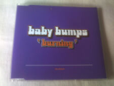 BABY BUMPS - BURNING - 1998 HOUSE CD SINGLE