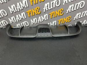2015 fiat 500 abarth rear bumper Diffuser Oem