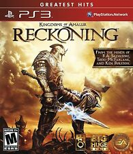 Kingdoms of Amalur: Reckoning (Sony PlayStation 3, 2012) *New,Sealed*