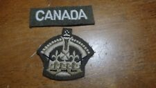 W11  CANADIAN ARMY CANADA ROYALE ARMY   PATCH  BX E 8