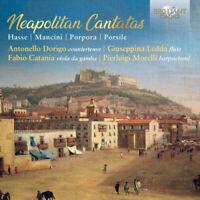Johann Adolf Hasse : Hasse/Mancini/Porpora/Porsile: Neapolitan Cantatas CD