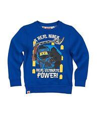 Lego Ninjago Sweatshirt Pullover blau Gr.104