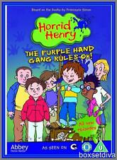 HORRID HENRY: THE PURPLE HAND GANG RULES OK! *BRAND NEW DVD *