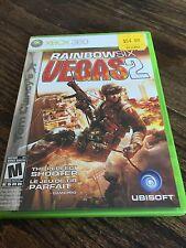 Rainbow Six Vegas 2 Xbox 360 Game Complete XG3