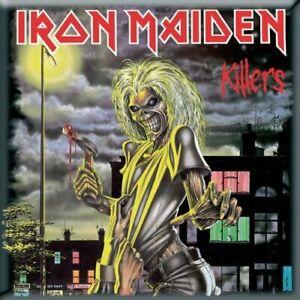 IRON MAIDEN Killers Fridge Magnet Rock Official Merchandise